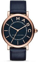 Marc Jacobs Roxy Analog Leather Strap Watch