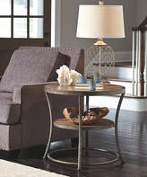 Signature Design by Ashley Light Brown Nartina Round End Table