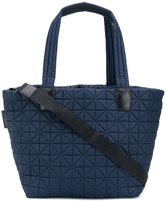 VeeCollective Large Quilted Tote Bag