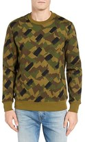 Lacoste Men's L!ve Camo Sweatshirt