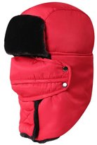 Novawo Unisex Winter Trapper Hat Ear Flap Cap with Breathable and Detachable Mask