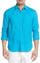 Vilebrequin Men's Linen Sport Shirt