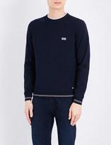 HUGO BOSS Striped knitted jumper