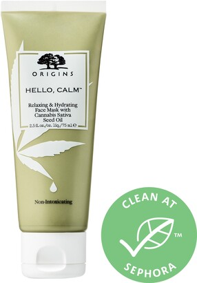 Origins Hello Calm Relaxing & Hydrating Face Mask with Hemp Seed Oil