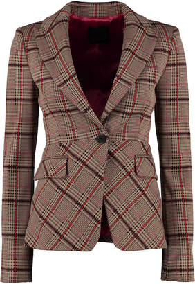 Pinko Penare One-button Jersey Blazer