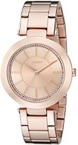 DKNY Women's NY2287 STANHOPE Rose Gold-Tone Stainless Steel Watch