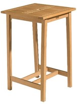 Oxford Garden Dartmoor Square Bar Table - Natural Shorea