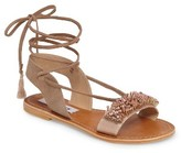 Steve Madden Women's Hope Embellished Wraparound Sandal