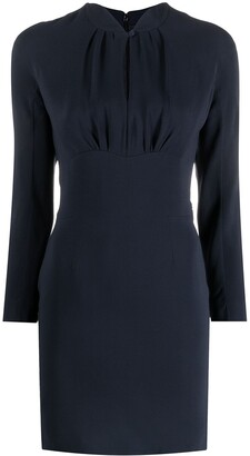 Christian Dior Pre-Owned Gathered-Detail Dress