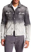 William Rast Erwin Dipdye Denim Jacket