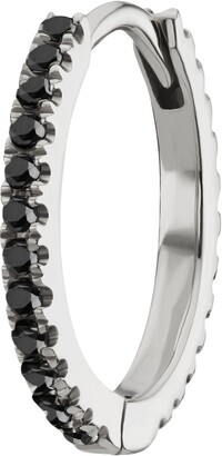 Maria Tash Black Diamond Eternity Clicker Earring