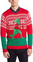 Blizzard Bay Men's Trex Hates Sweater Ugly Christmas Sweater