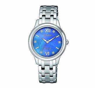 Citizen Womens Analogue Quartz Watch with Titanium Strap EM0720-85N