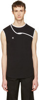 Telfar Black and White Simplex Tank Top
