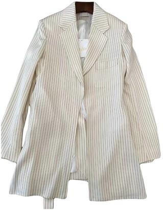 Chloé Ecru Wool Trench Coat for Women