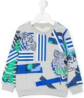 Kenzo printed Lion sweatshirt