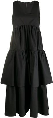 Aspesi tiered ruffled dress