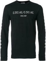 McQ by Alexander McQueen Usual motif sweater - men - Cotton - S