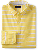 Classic Men's Tailored Fit Long Sleeve Buttondown Starport Oxford Shirt-White