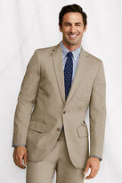 Lands' End Men's Tailored Fit Supima Cotton Twill Sportcoat
