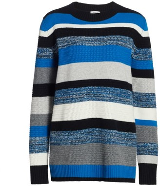 Akris Punto Wool & Cashmere Textured Knit Pullover Sweater