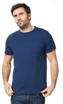 J By Jasper Conran Navy Supima Cotton Crew Neck T-shirt