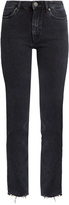 MiH Jeans Daily raw-hem high-rise straight-leg jeans