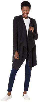 UGG Phoebe Wrap Cardigan (Black) Women's Clothing