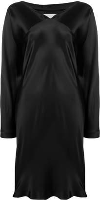 Maison Margiela Pre-Owned silk wrap dress