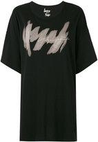 Yohji Yamamoto logo print T-shirt - women - Cotton - M