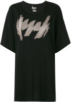 Yohji Yamamoto logo print T-shirt - women - Cotton - S