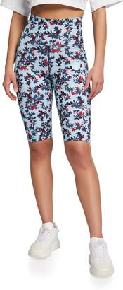 adidas by Stella McCartney True Purpose Printed Bike Shorts