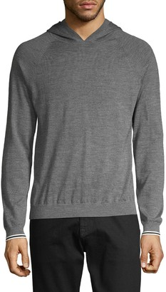 Vince Wool & Cashmere-Blend Pullover Hoodie