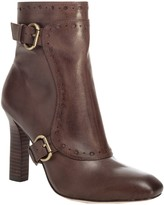Max Studio Paula - Stacked Heel Leather Booties