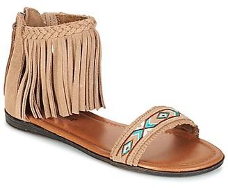 Minnetonka MOROCCO women's Sandals in Beige