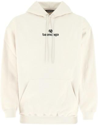 Balenciaga Sponsor Print Hoodie