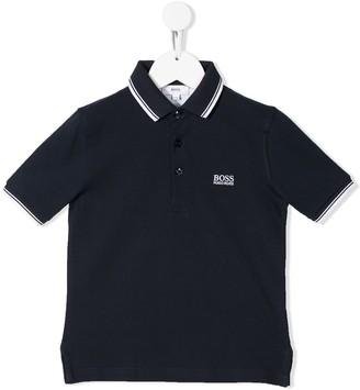 Boss Kidswear Logo Polo Shirt