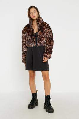 Tiger Mist Reme Animal Print Jacket - assorted XS at Urban Outfitters