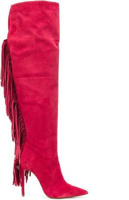 Just Cavalli fringe boots