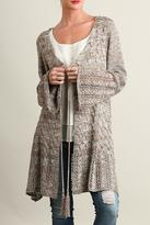 Umgee USA Long Taupe Sweater