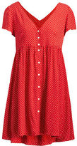 Denim & Supply Ralph Lauren Polka-Dot Button-Front Dress