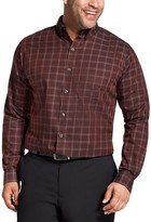 Van Heusen Big & Tall Classic-Fit Wrinkle-Free Button-Down Shirt