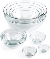 Martha Stewart Collection 10-Pc. Glass Mixing Bowl Set