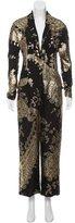 Ungaro Silk Brocade Jumpsuit