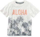 Carter's Aloha-Print Cotton T-Shirt, Little Boys (2-7)