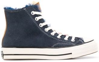 Converse Chuck 70 shearling sneakers
