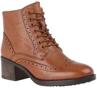 Lotus Footwear Womens Lotus Casual Comfort Ankle Boots - Brown