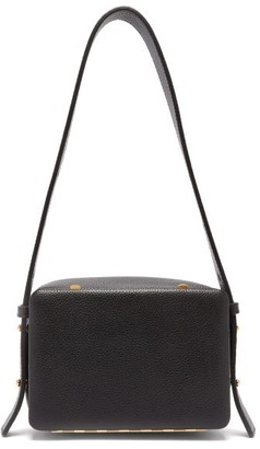 Lutz Morris Myke Small Grained-leather Bag - Black