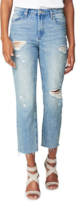 Blank NYC Love Letter Embellished Jeans