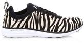 Athletic Propulsion Labs Women's Phantom Zebra-Stripe Calf Hair Leather Sneakers